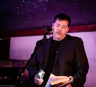 JACK GRISHAM reading at CAFE NELA